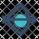 Archery Bow Arrow Icon
