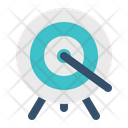 Archery Target Arrow Icon
