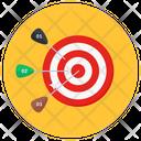 Archery Dartboard Arrow Game Icon