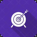 Archery Arrow Bullseye Icon