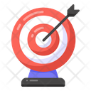 Archery Target Board Aim Icon