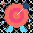 Archery Dart Board Target Icon