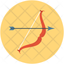 Archery Arrow Target Icon