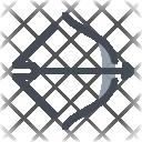 Archery Arrow Target Icon