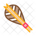 Archery Arrow Feather Icon