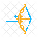 Modern Bow Arrow Icon