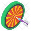 Archery Dartboard Icon