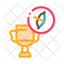 Archery Trophy Icon