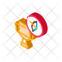 Archery Championship Cup Icon