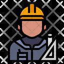 Architect Avatar Occupation Icon