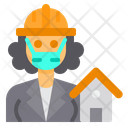 Architect Engineer Occupation Icon