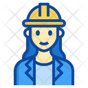 Architect Woman Occupation Female Engineer Icon