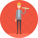 Architect Manufacturing Plan Icon