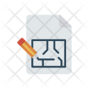 Architect Blueprint Document Icon