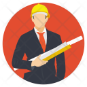 Engineer Architect Builder Icon