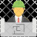 Architect Builder Constructor Icon