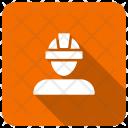 Architector Engineer Worker Icon