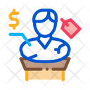 Architectural Bust Sale Icon
