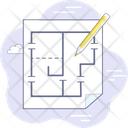 Architectural Plan Icon