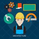 Architecture Human Profession Icon