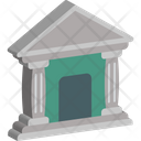 Architecture Bank Building Icon