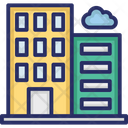Architecture Building Commercial Building Icon