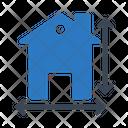 Architecture Blueprint House Icon