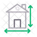 Architecture Blueprint House Icon