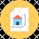 Architecture Paper Plan Icon