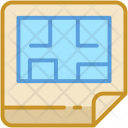 Architecture Blueprint Construction Icon
