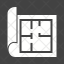 Architecture Plan Structure Icon