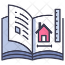 Book House Home Icon