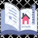 Book House Home Icon