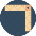 Ruler Measuring Scale Architecture Ruler Icon