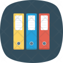 Archive Colorful Documents Icon