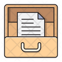 Archive Drawer Document Icon