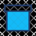 Archive Box Delivery Icon
