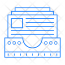 Archive Drawer Records Icon