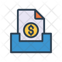 Archive Document Files Icon