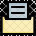 Folder Data User Icon