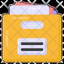 File Holder Document Holder File Case Icon