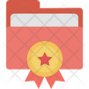 Archive Bookmark Star Favorite Folder Icon