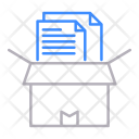 Archive Box Mail Icon