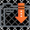 Archive Content Data Icon
