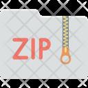 Archive File Zip Icon