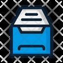 Archive Box Open Icon