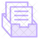 Archive Box Officematerial Icon
