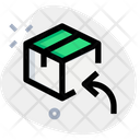 Archive Box Back Return Parcel Return Package Icon