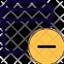 Archive Box Minus Icon