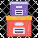 Archive Boxes Icon
